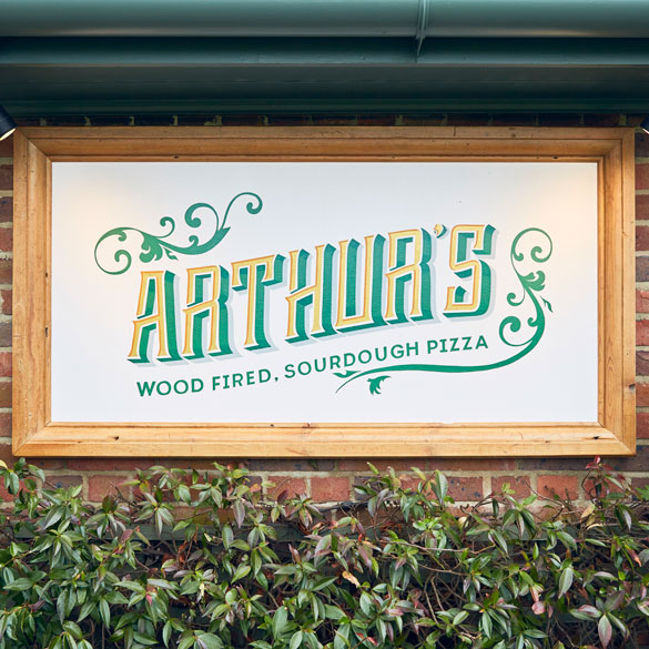 Arthurs Pizza Part Of Mosaic Pub Dining